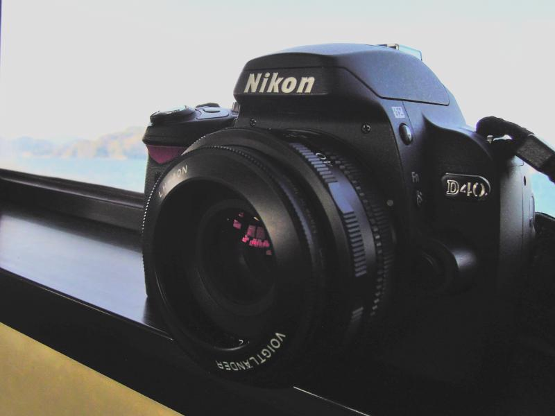 ニコンD40とフォクトレンダーULTRON 40mm F2