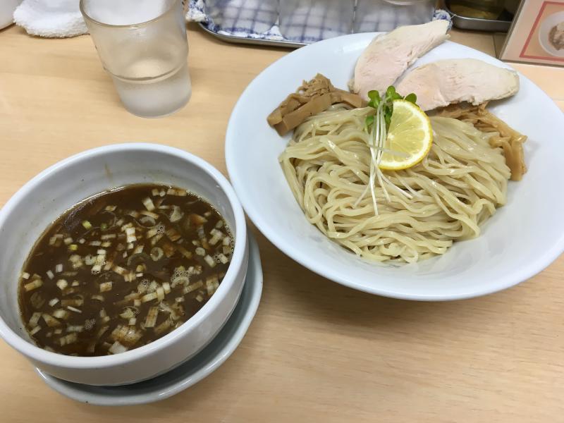 鯖醤油つけ麺