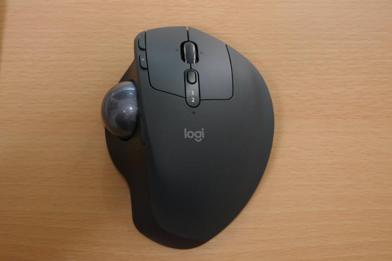 Logicool MXTB1s (MX ERGO Wireless Trackball)