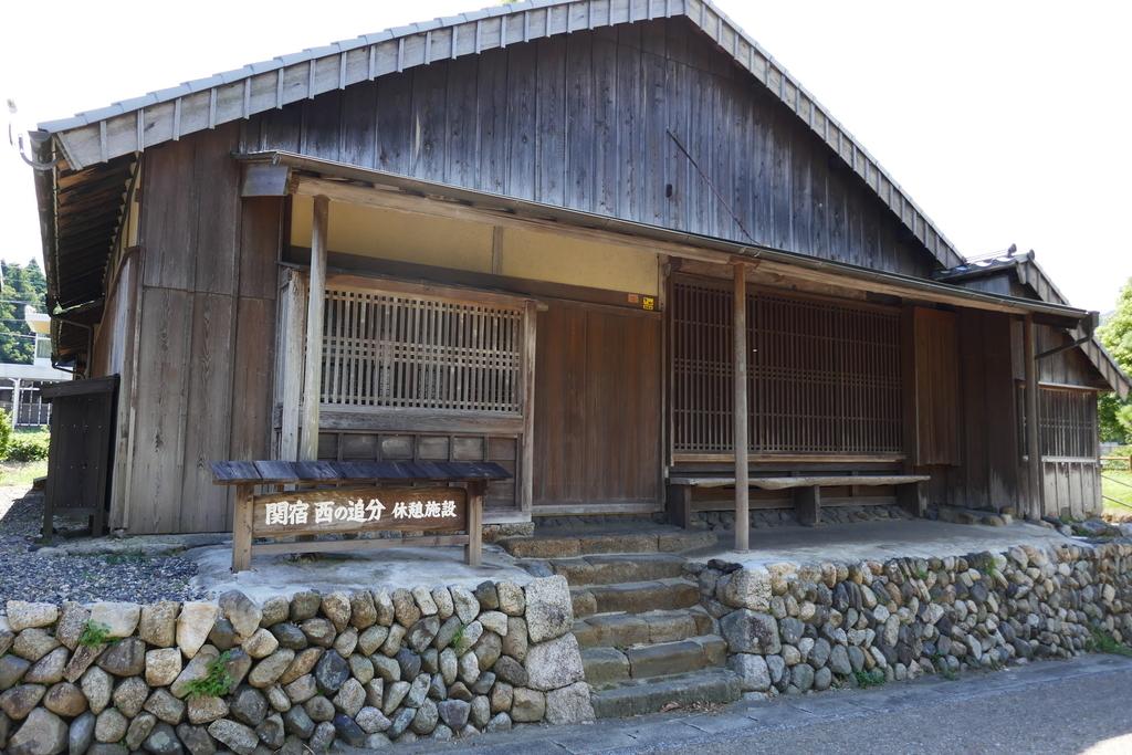 関宿 西の追分休憩所