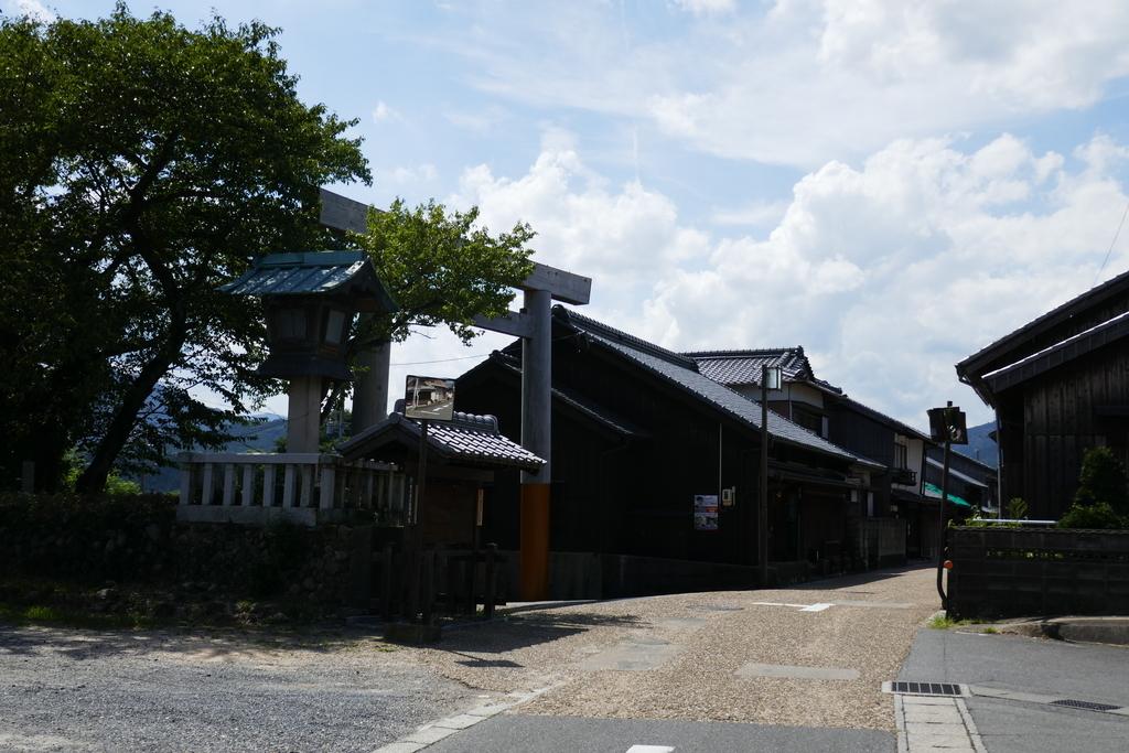 関宿 東の追分