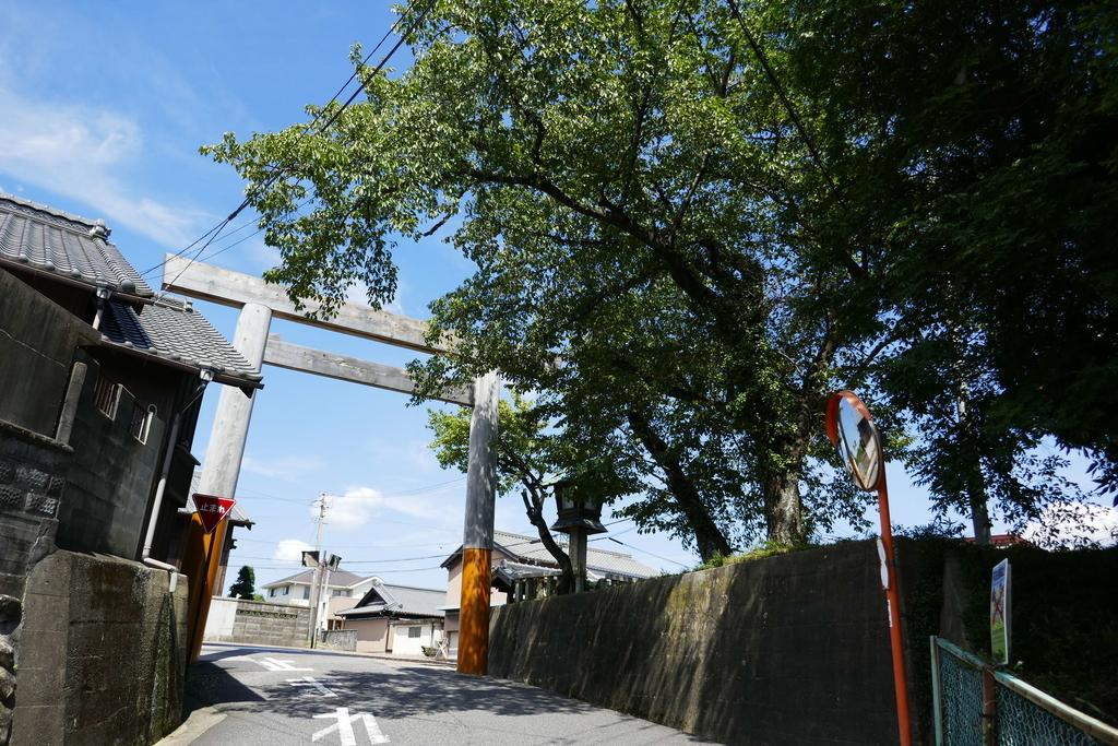 関宿 東の追分 鳥居 一里塚
