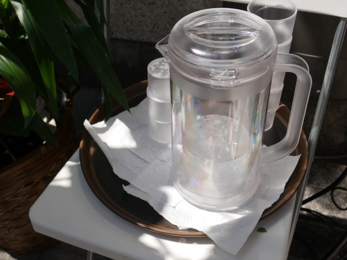 波の 静岡中央本店のスタッフさんが行列でもお水や飲み物をサービスしてくれてました