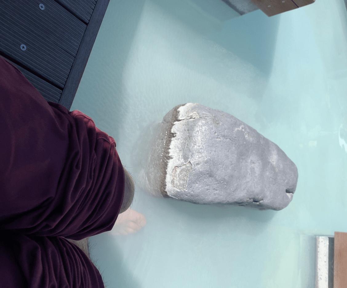 蔵王温泉新左衛門の湯の足湯