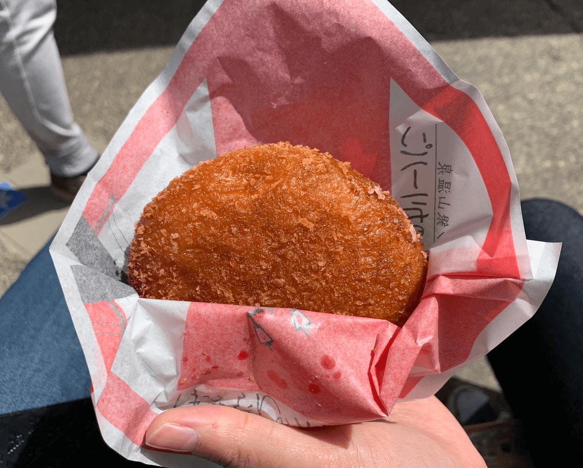 銀山温泉のはいからさんカレーパン