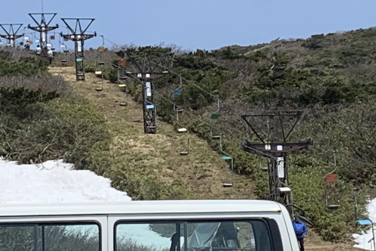 蔵王山お釜いきのロープウェイ