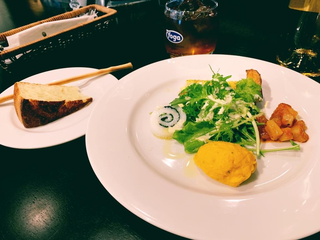 グーフォのランチコースの前菜