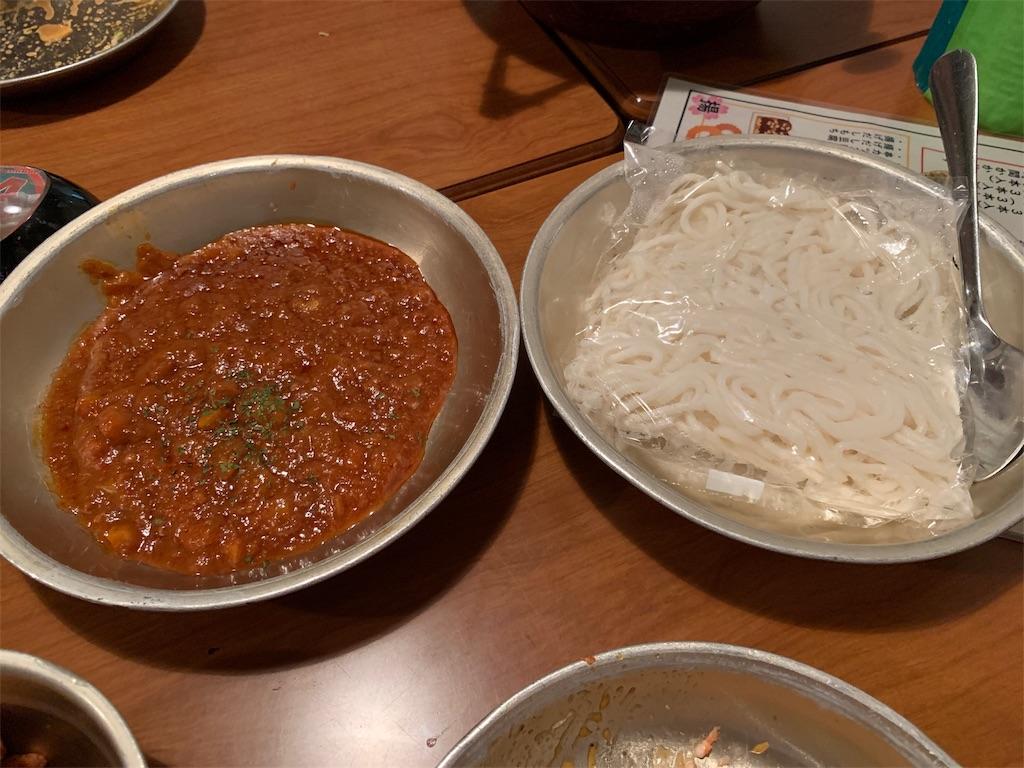 学校居酒屋6年4組のソフト麺