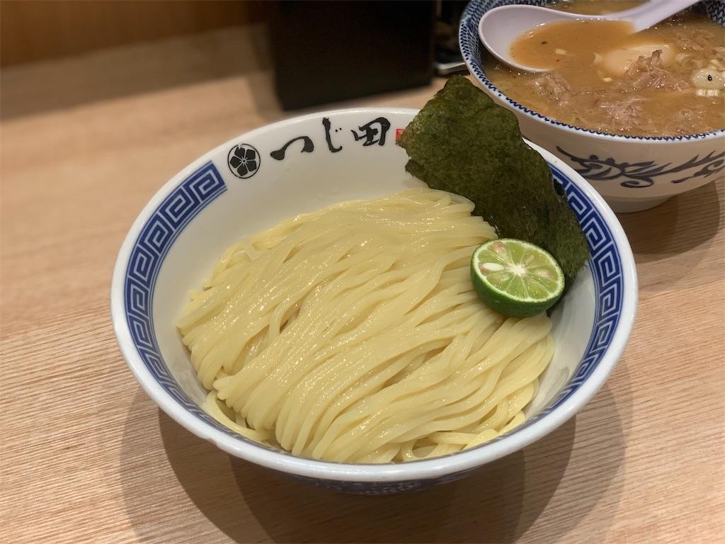 つじ田の濃厚豚崩しつけ麺