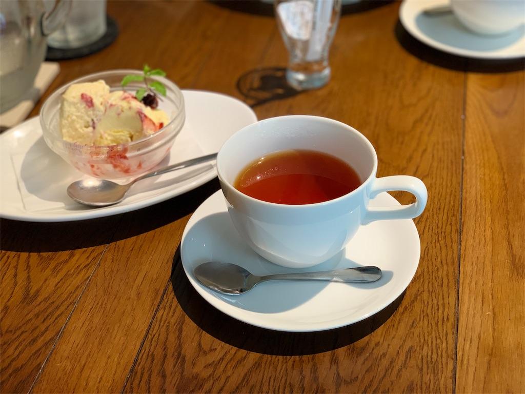 トラッペリアコルテロの食後の紅茶