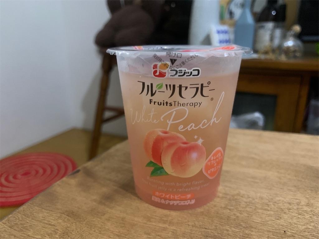 フジッコフルーツセラピーの桃