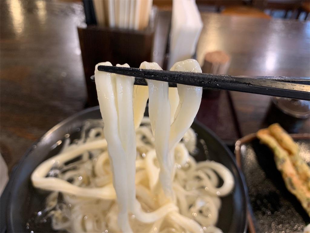 雷鞭のうどん麺