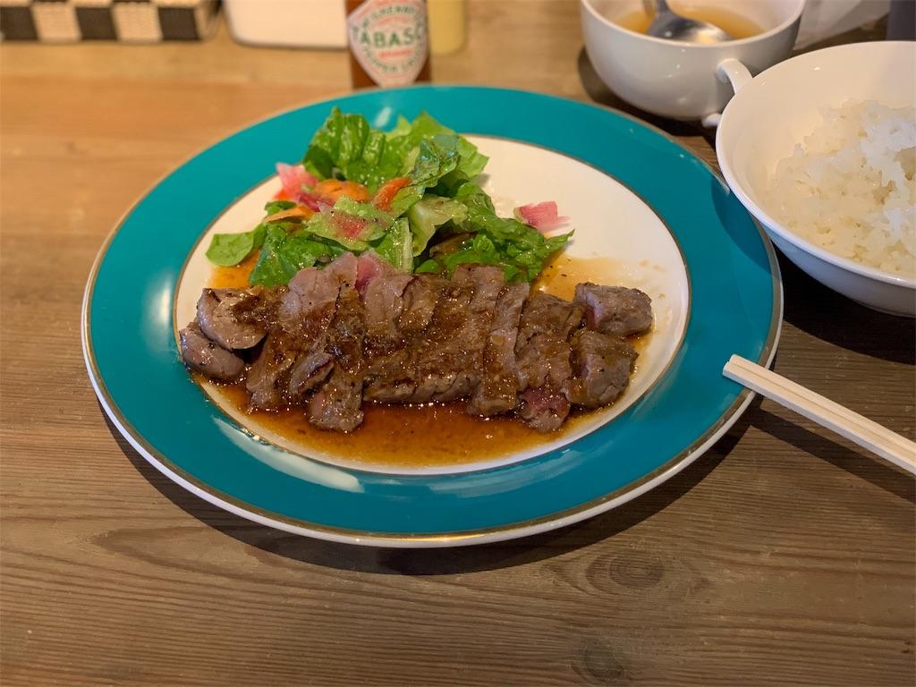 FREEDOM KITCHEN NOMOTOの牛ロースステーキ