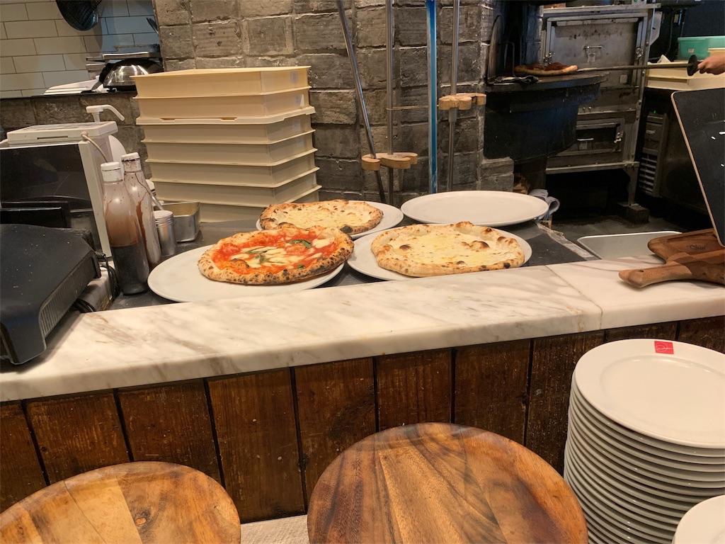 SALVATORECUOMO&BAR天神の焼きたてピザ