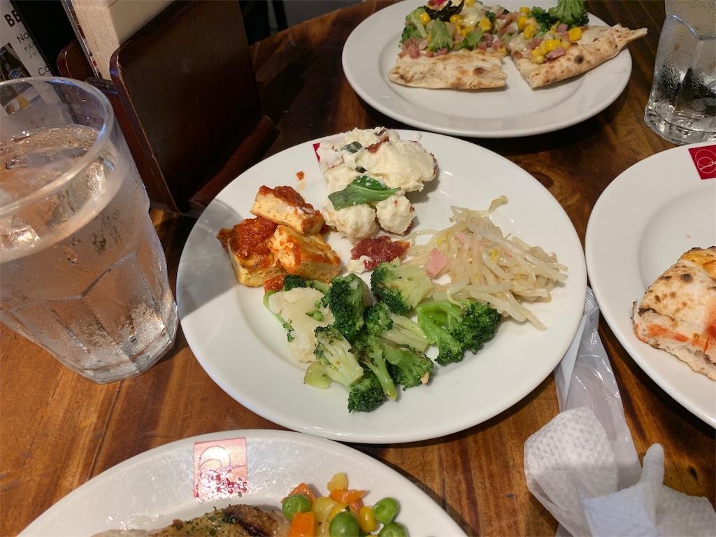 SALVATORECUOMO&BARで食べた野菜
