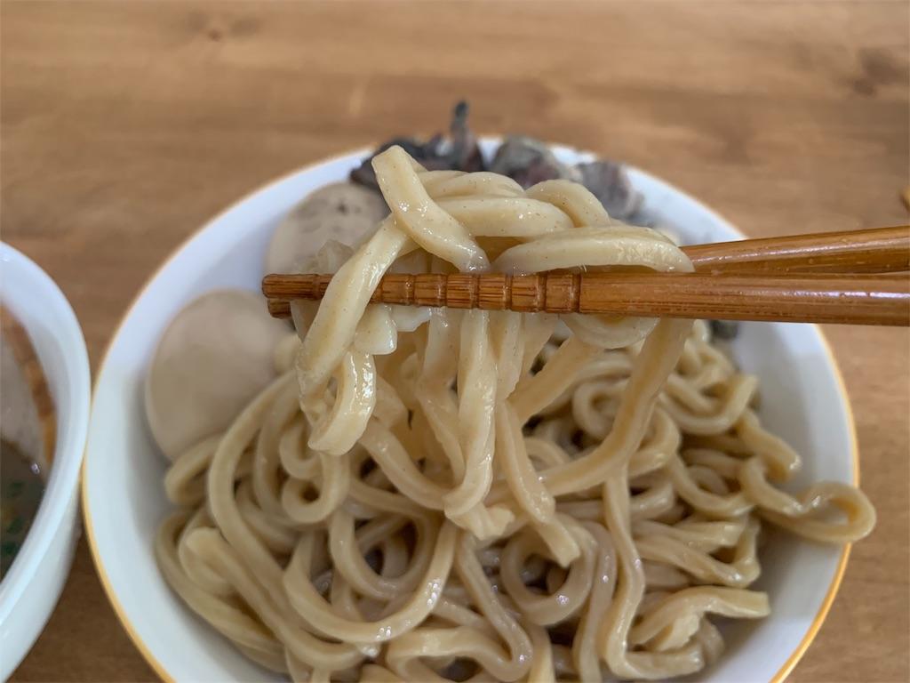 セブンイレブン中華そばとみ田の麺