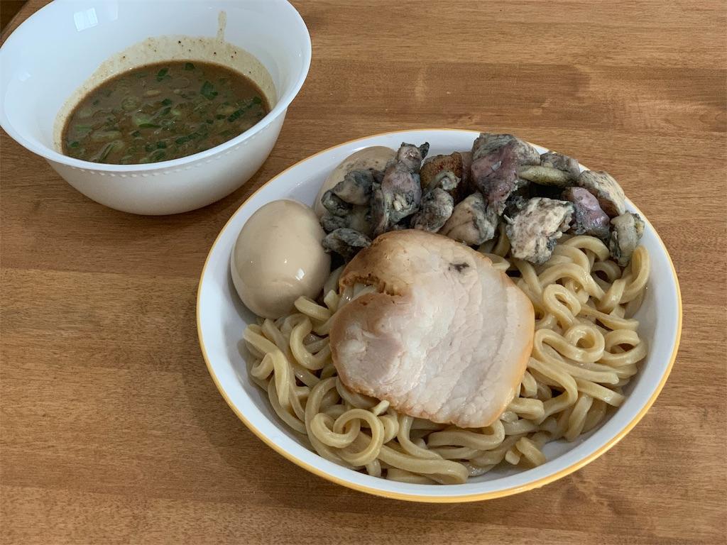 セブンイレブン中華そばとみ田のつけ麺
