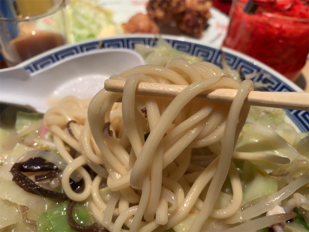 長崎亭のちゃんぽん麺