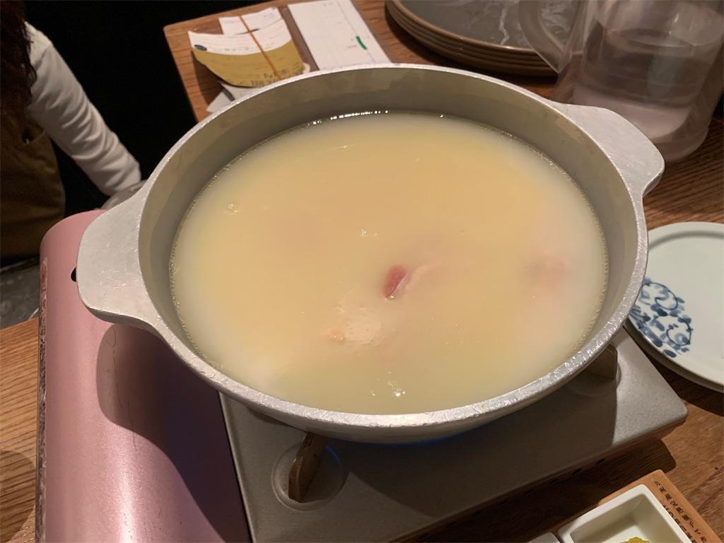 博多水炊き とり田のスープ