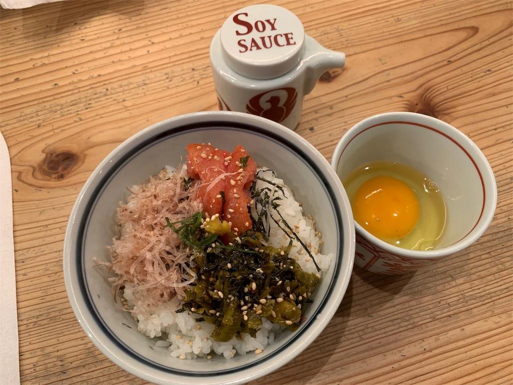 博多坦々麺とり田の博多めんたい丼