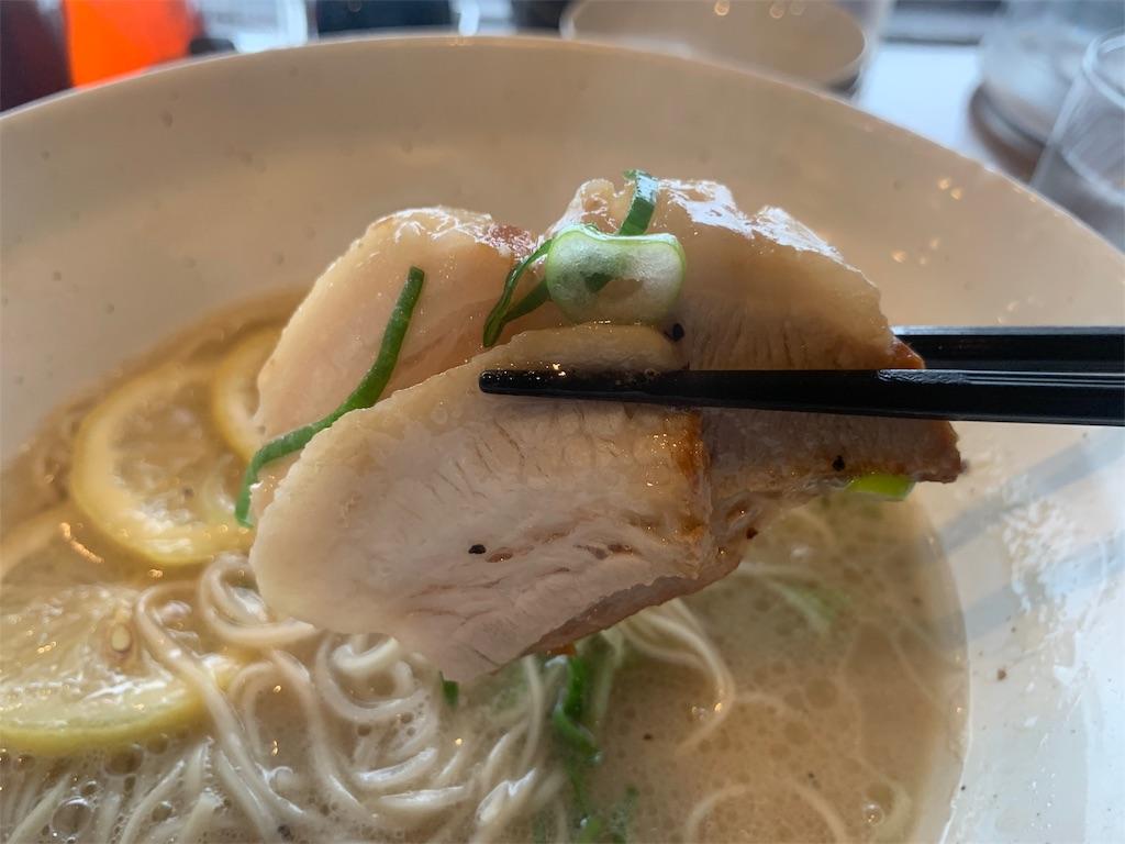 真麺武蔵のチャーシュー
