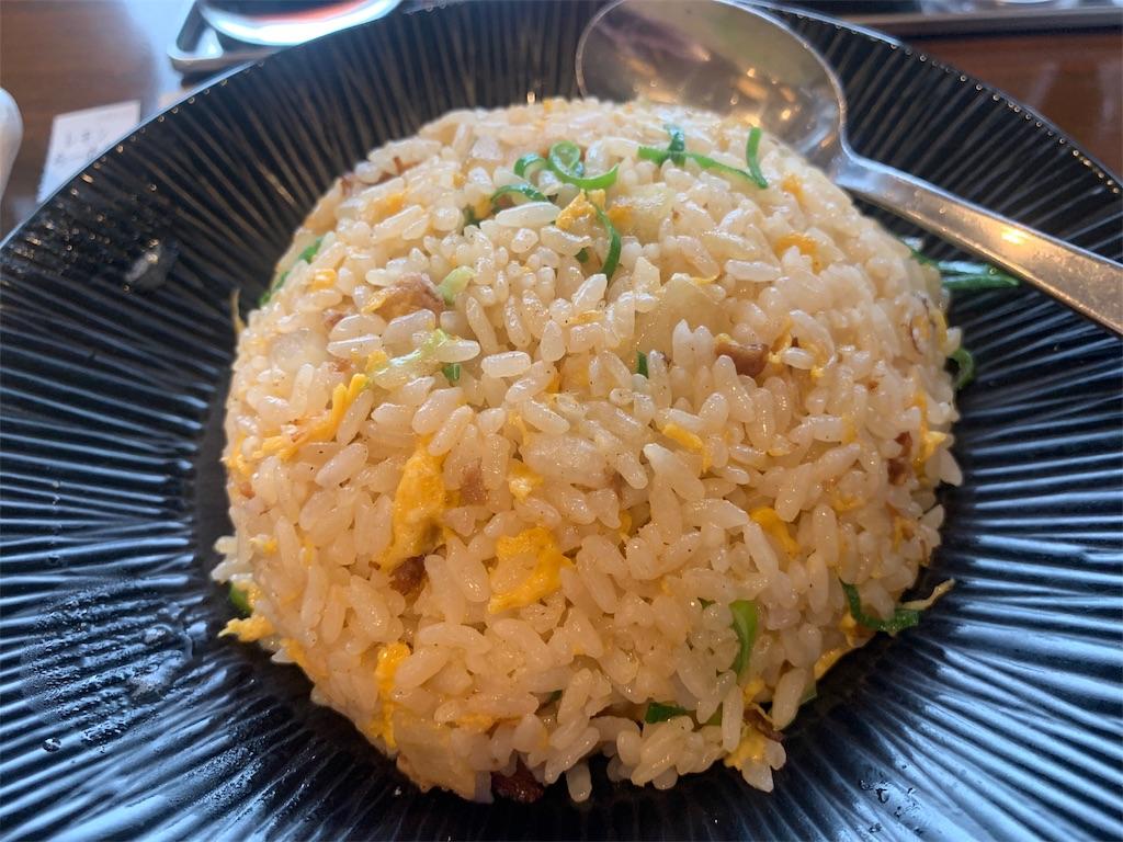 真麺武蔵のチャーハン