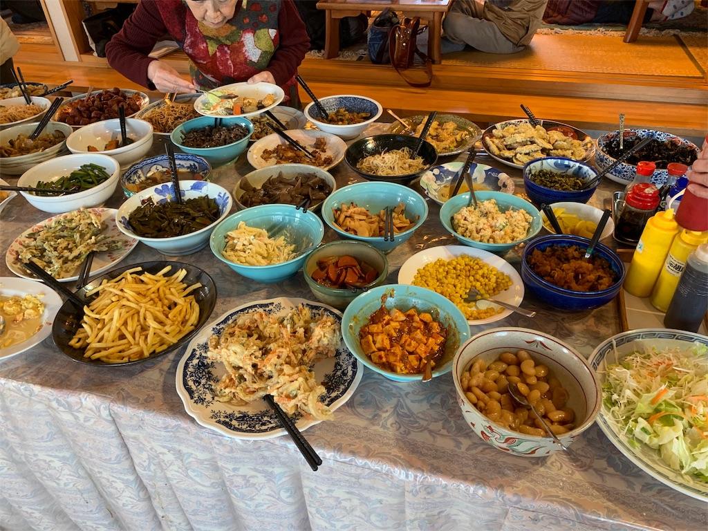 萬年屋のお惣菜の数々