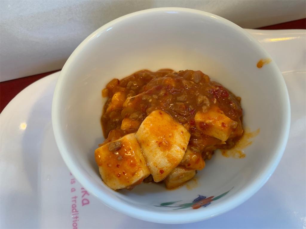 萬年屋の麻婆豆腐