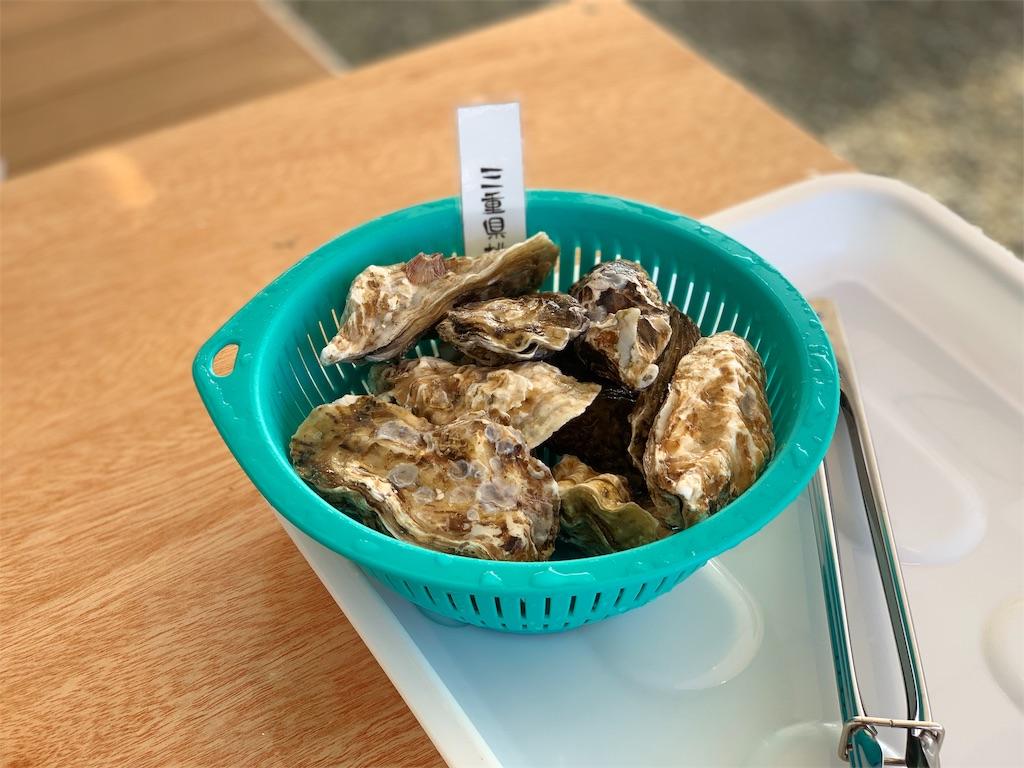 かき焼き処貝鮮丸の焼き牡蠣