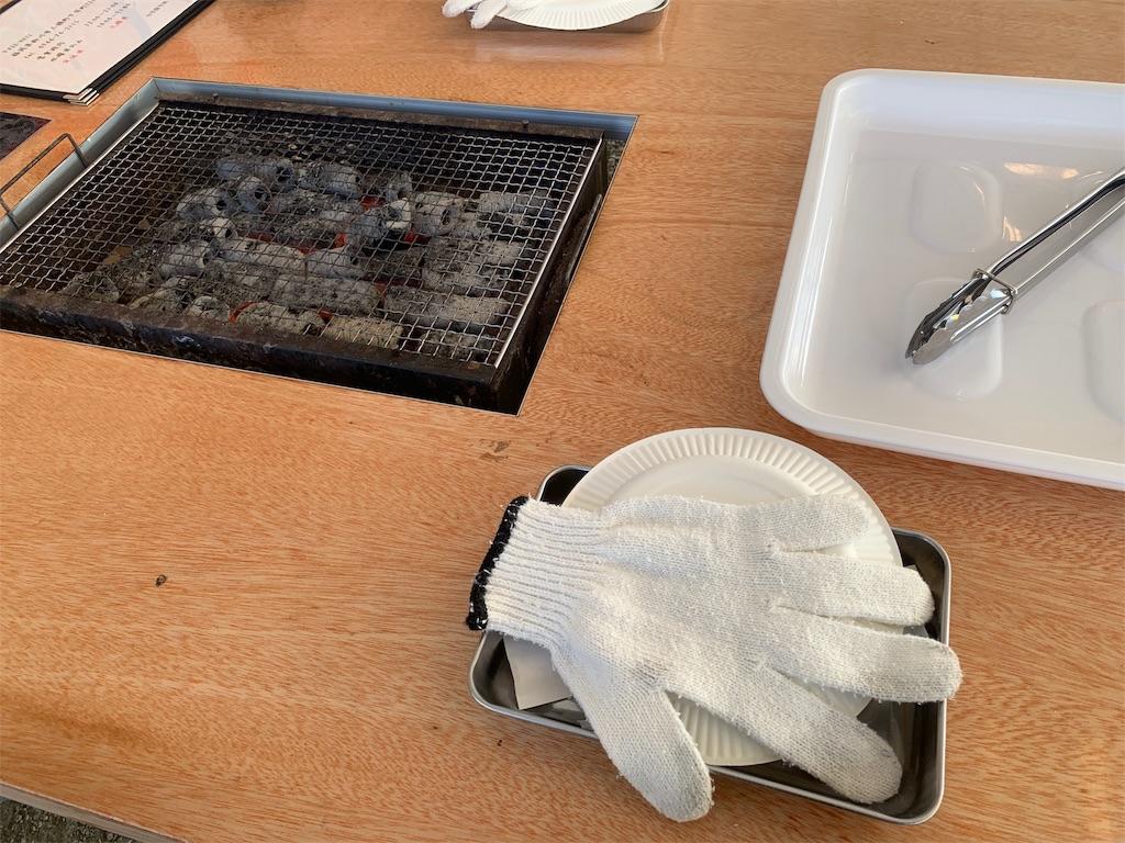 かき焼き処貝鮮丸の支給される道具