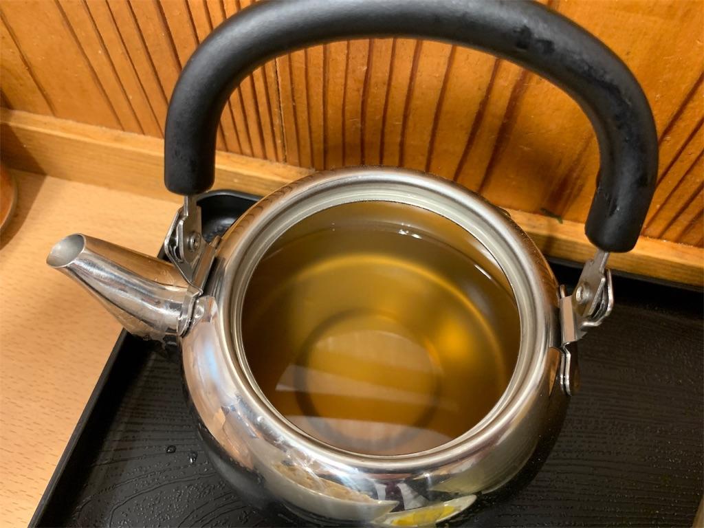 牧のうどんの無料の追加スープ