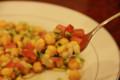 チャナ豆サラダ