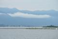 琵琶湖大橋に架かる雲