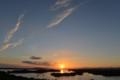 陽が落ちる(英虞湾)