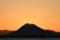 近江富士から陽が昇る