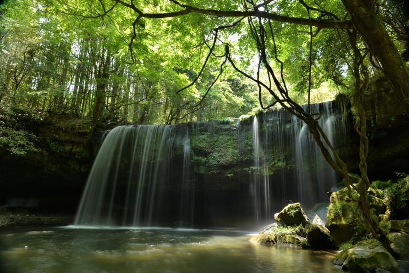 絶景 「鍋ケ滝」