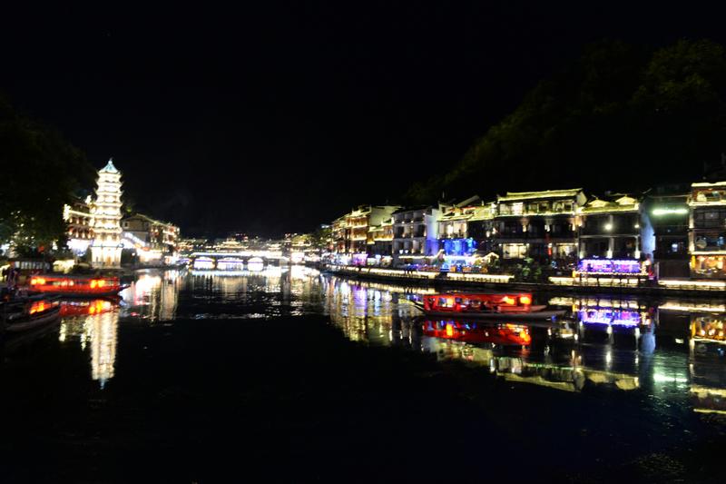 鳳凰古城 夜景