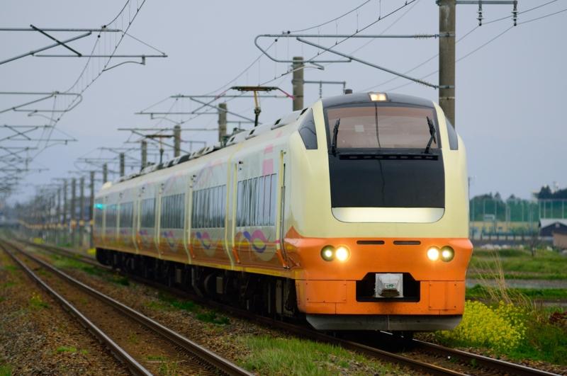 余目-北余目_E653系1000番台特急いなほ7号