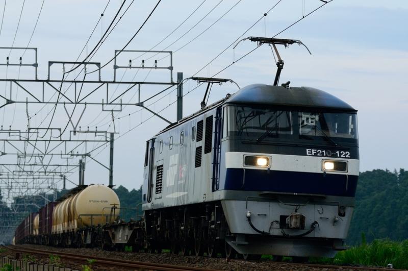 佐倉-物井_1092レ_EF210-122号機(新鶴見)+コキ17B