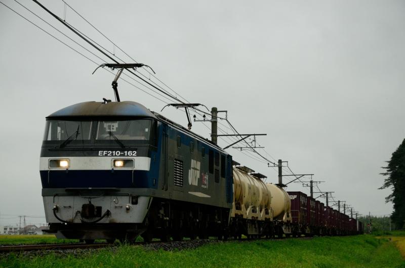 滑河-下総神崎_1092レ_EF210-162号機(新鶴見)+コキ17B