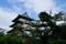 弘前城天守-下乗橋西側から