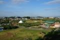 [青森県][弘前市][りんご公園]すり鉢山俯瞰_禅林街・弘前公園方面