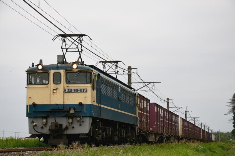 滑河-下総神崎_1094レ_EF65PF-2119号機+コキ15B