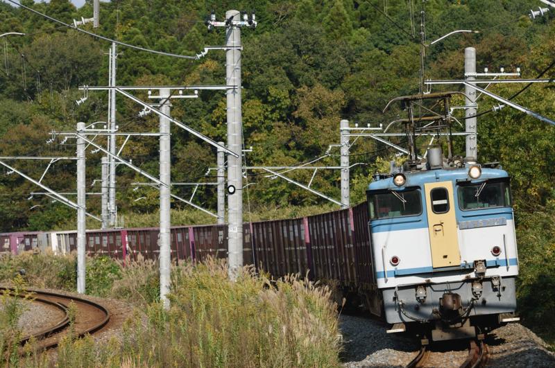 酒々井-佐倉_1094レ_EF65PF-2127号機(新鶴見)+コキ15B