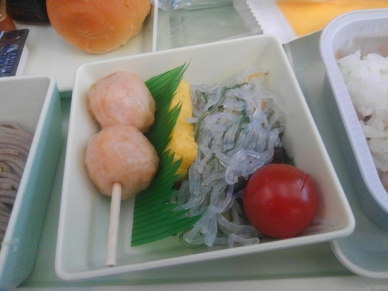 VN347カニ団子・玉子焼・春雨サラダ
