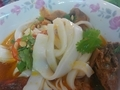 Bà Vị Mì Quảng 麺上げ
