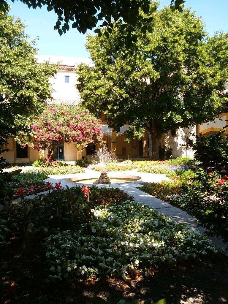 かの有名な中庭