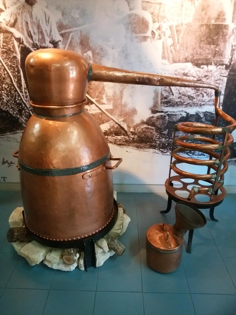 蒸留器のひとつ