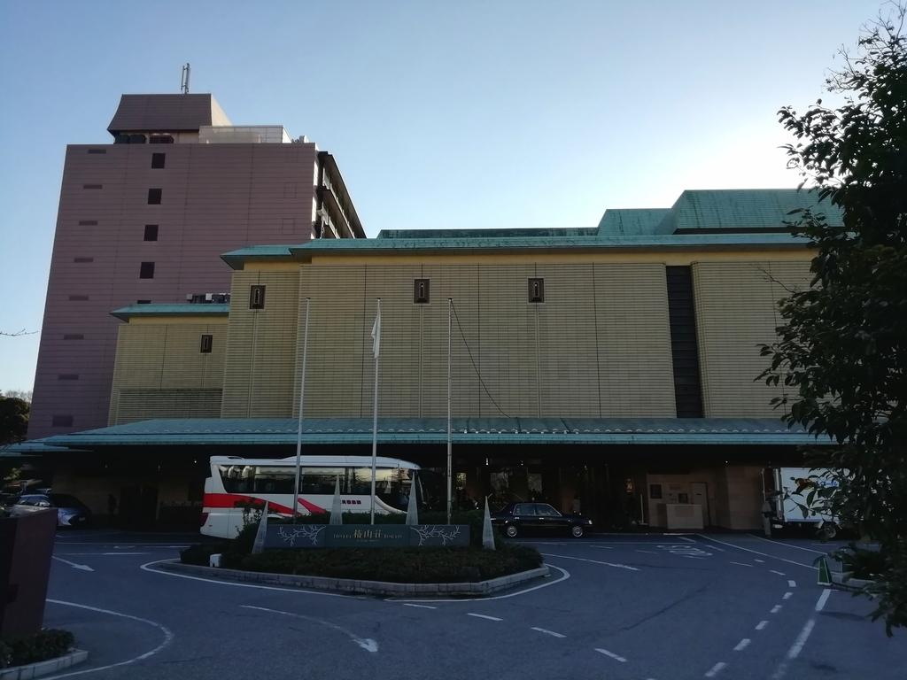 ホテル椿山荘東京 正面玄関