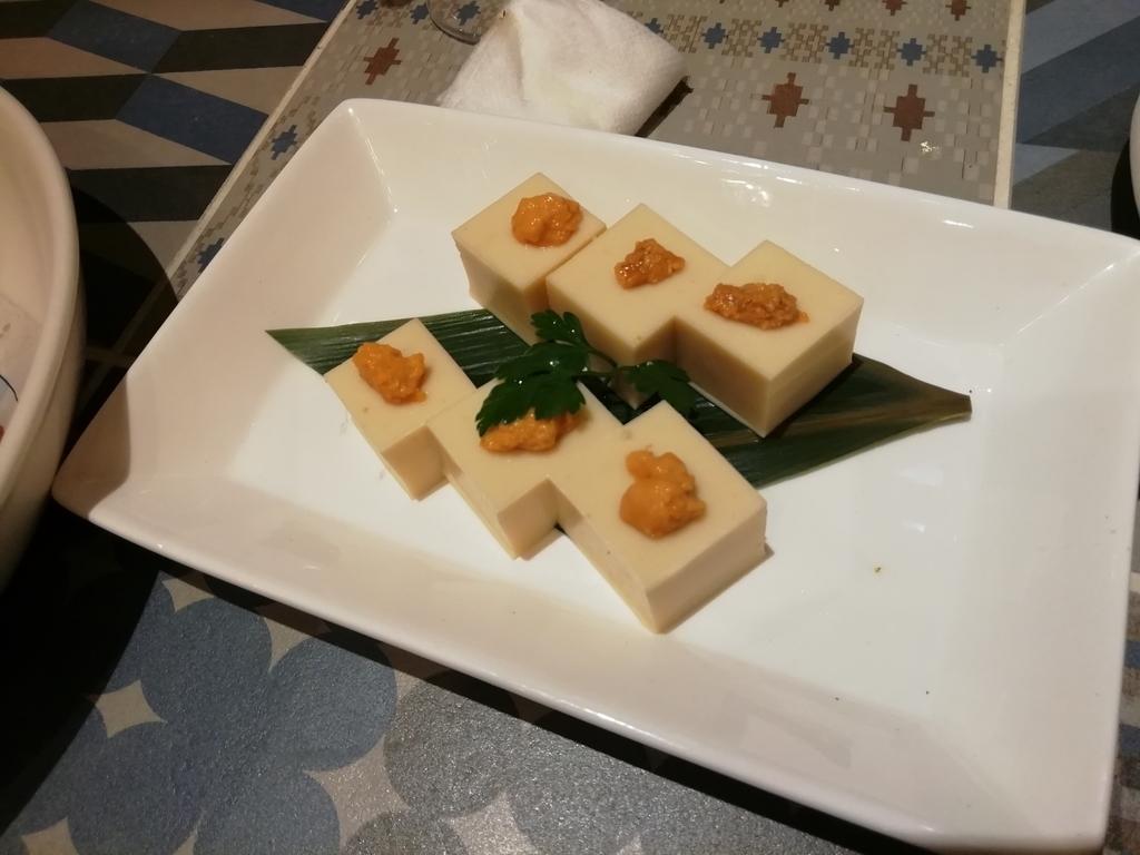 うに豆腐 690円